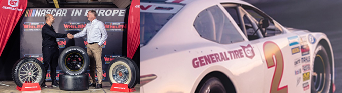 General Tire Official Partner van NASCAR Whelen Euro Series